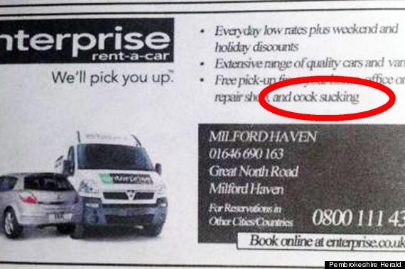 cocksucking Periódico publica anuncios plebes por sabotaje [UK]