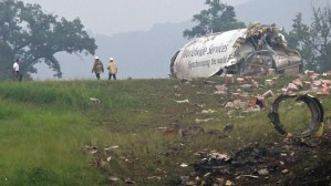 APTOPIX UPS Plane Crash